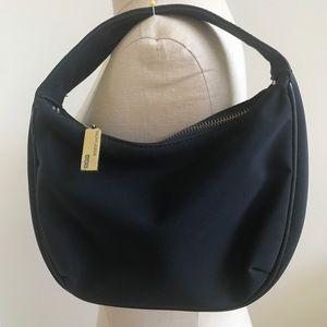 Ralph Lauren mini microfiber cocktail bag black